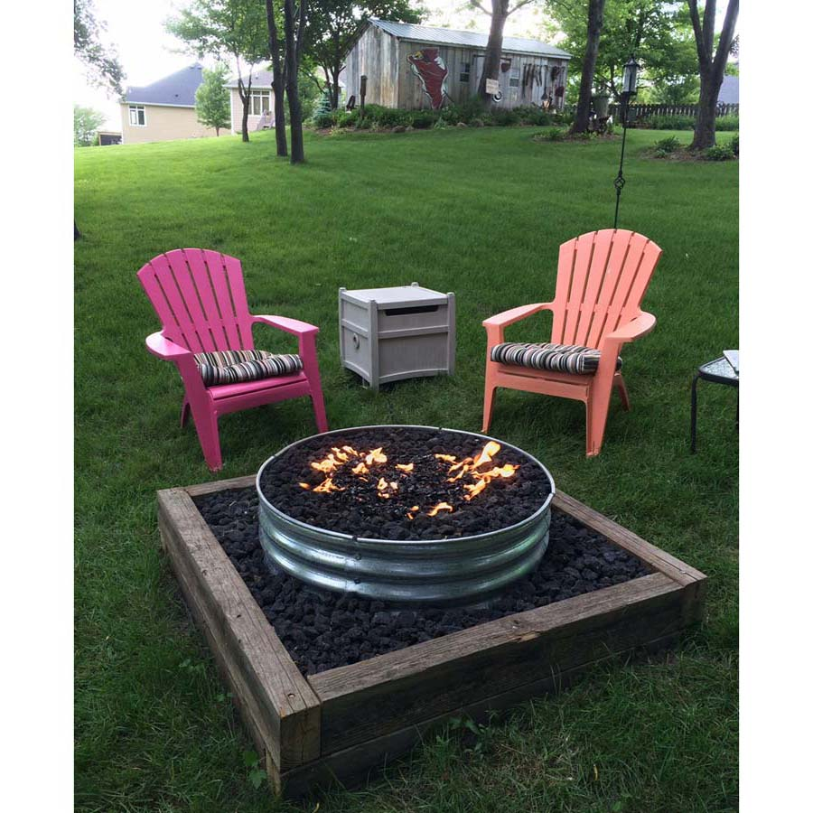 18 Fire Pit Ring