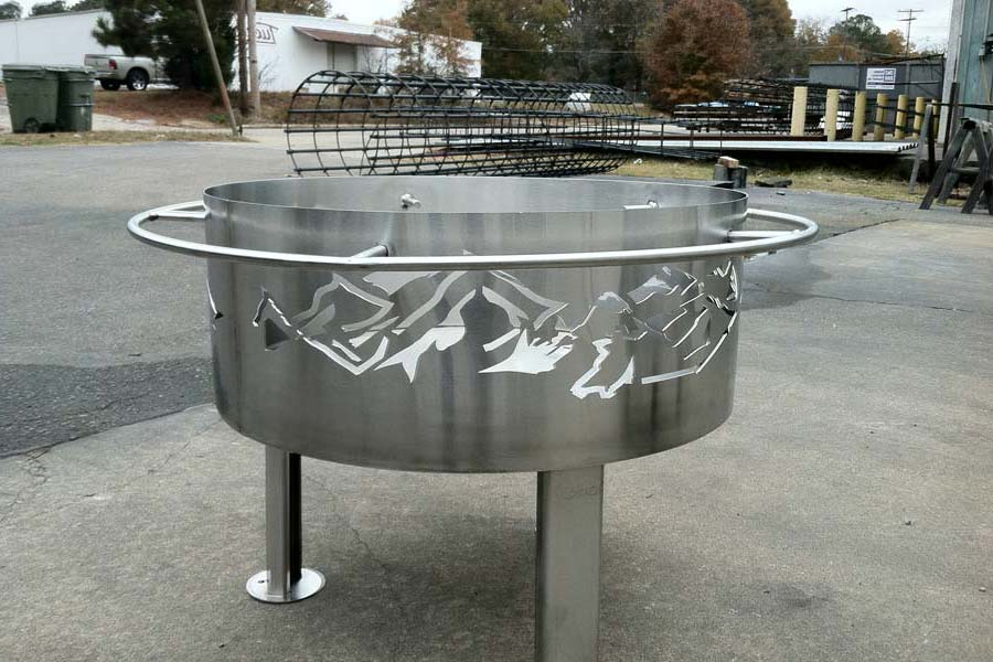 18 Stainless Steel Fire Pit Ring