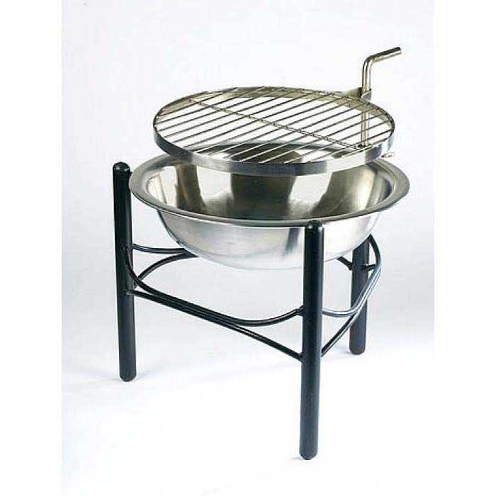 Strengthen the fun with stainless steel fire pit