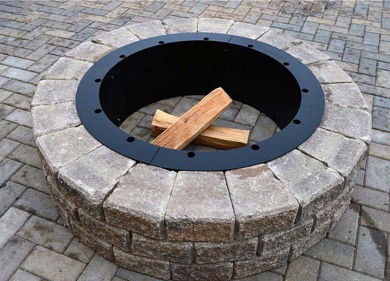 24 Inch Round Fire Pit Insert