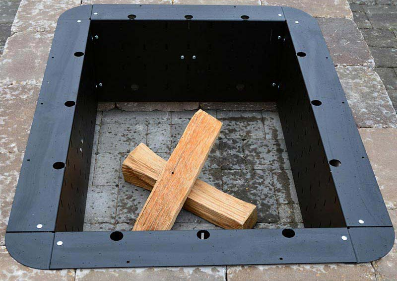 24 Inch Square Fire Pit Insert