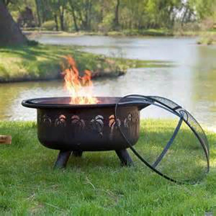 50 Fire Pit Spark Screen