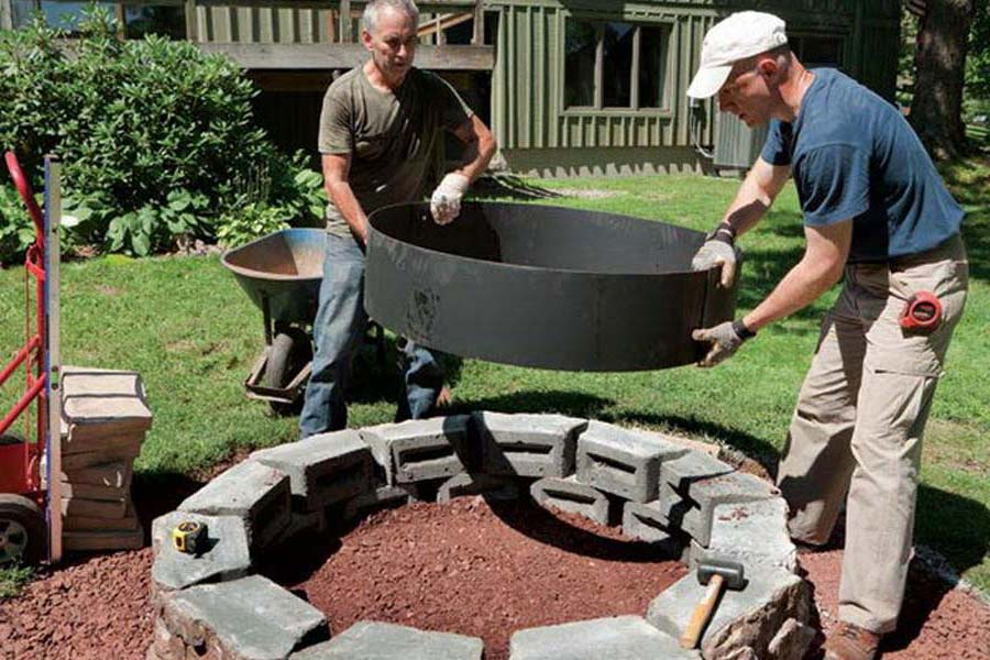 6 Foot Fire Pit Ring