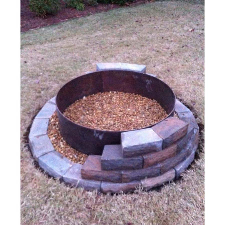 Build Fire Pit Ring