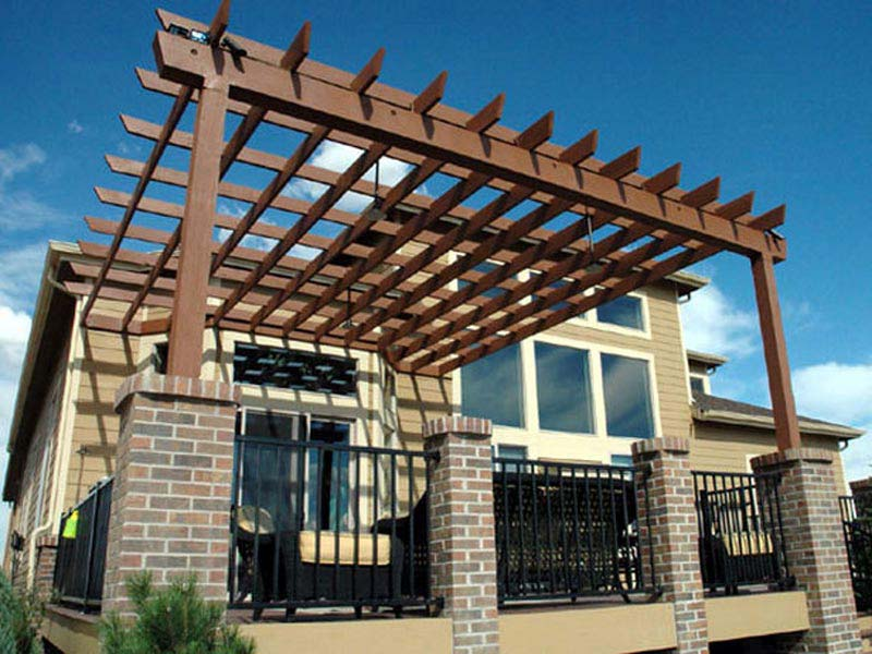 Build Pergola On Deck