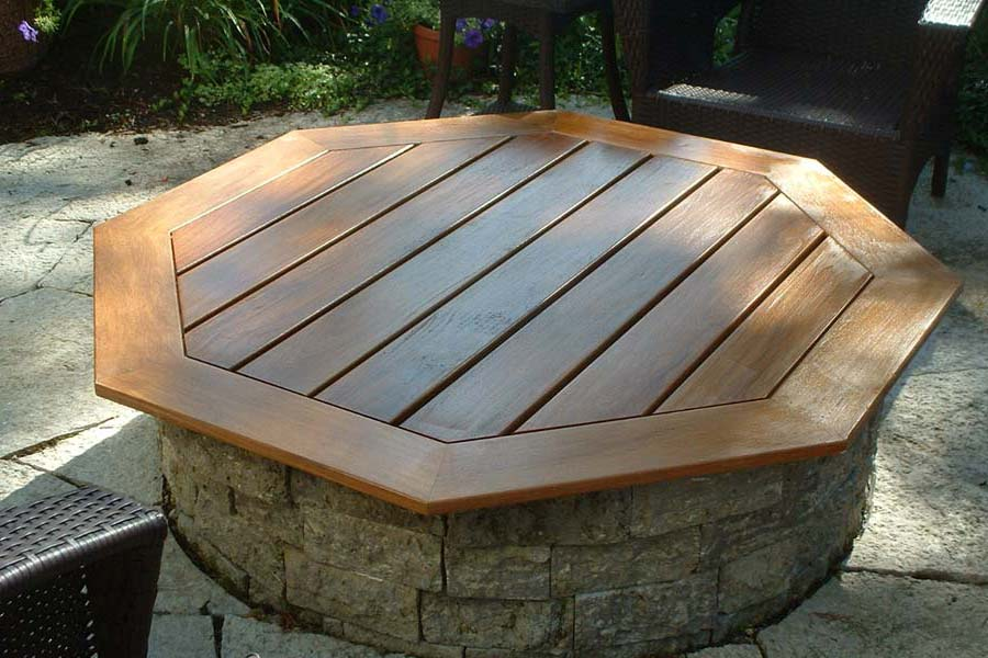 Built In Fire Pit Covers