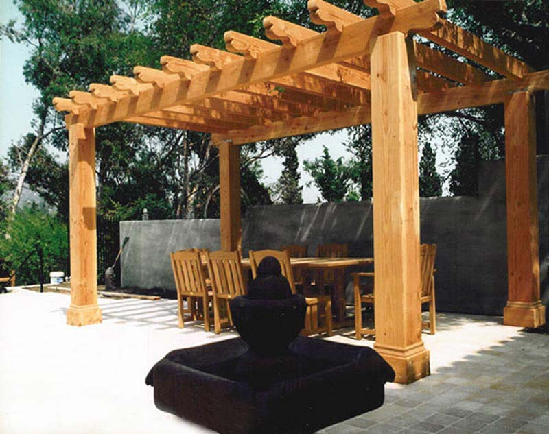 Cantilevered Pergola Plans