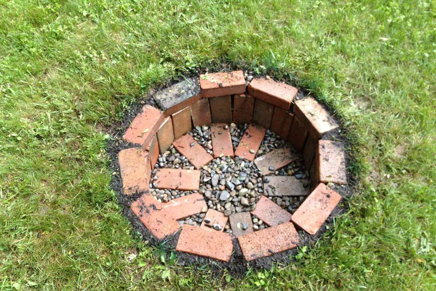 Cheap Easy Homemade Fire Pit