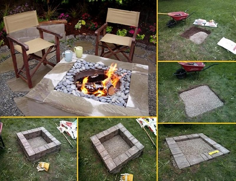 Cheap Fire Pit Diy