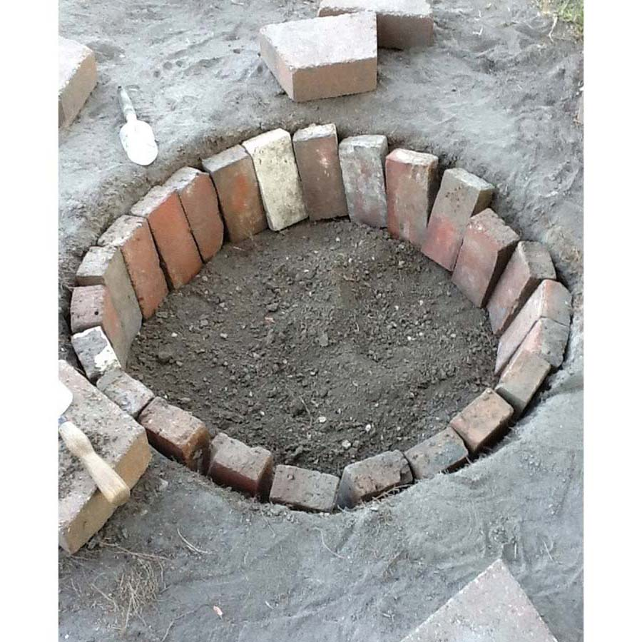 Clay Bricks For Fire Pit