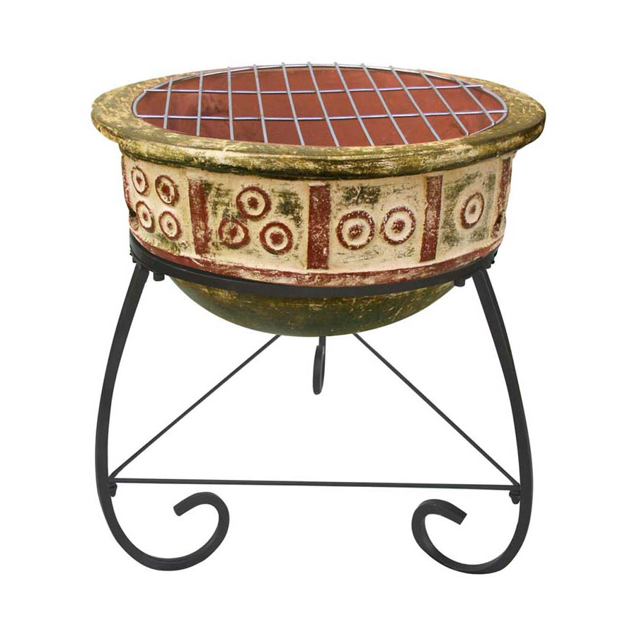 Clay Fire Pit Bbq