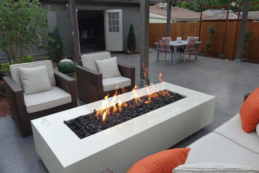 Contemporary Fire Pits Uk