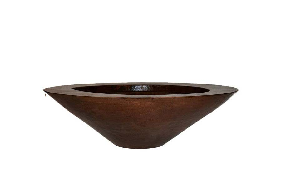 Copper Fire Pit Bowl Only