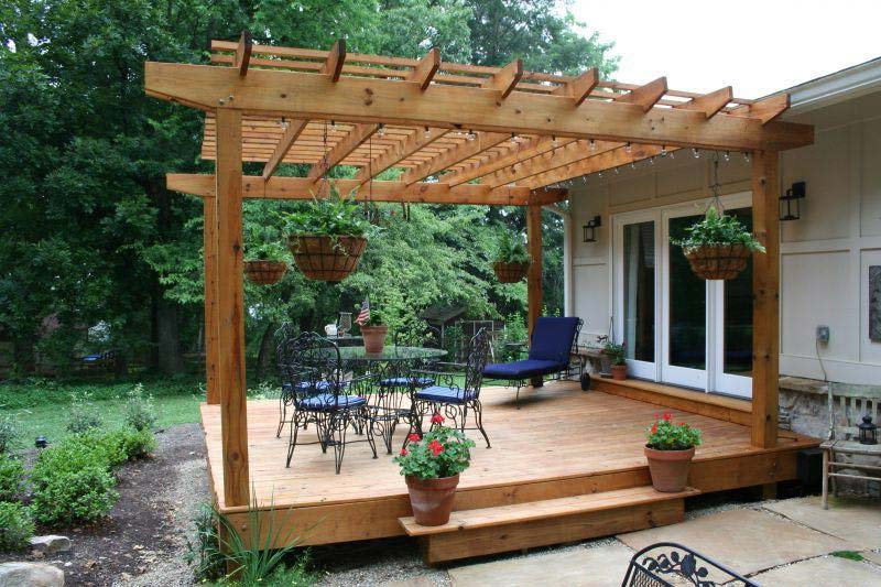 Covered Pergola Plans