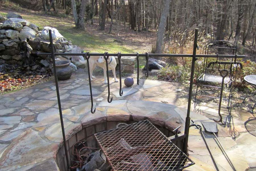 Cowboy Fire Pit Grill Home Depot