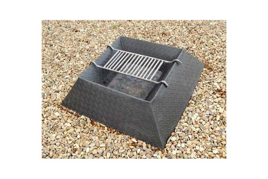 Custom Fire Pit Grill Grates