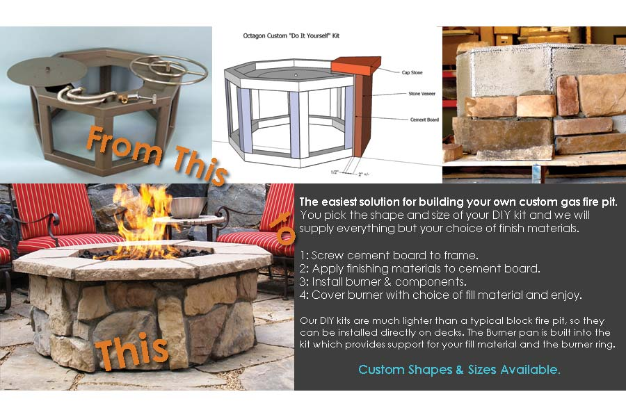 Do It Yourself Natural Gas Fire Pit