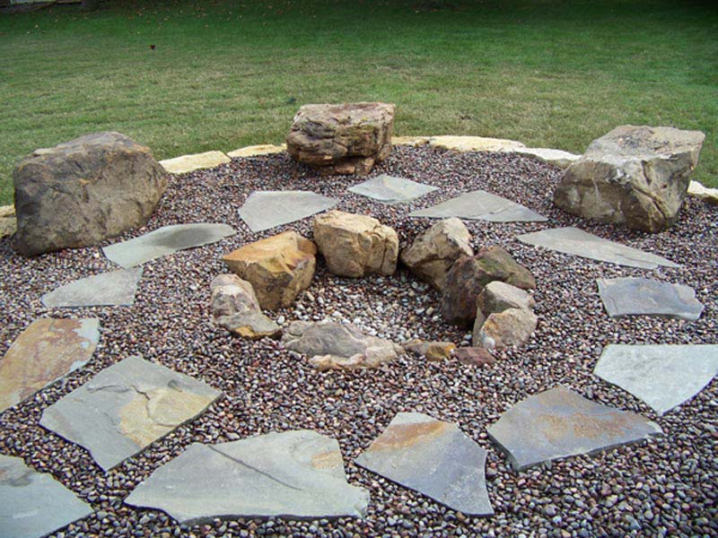 Easy In Ground Fire Pit