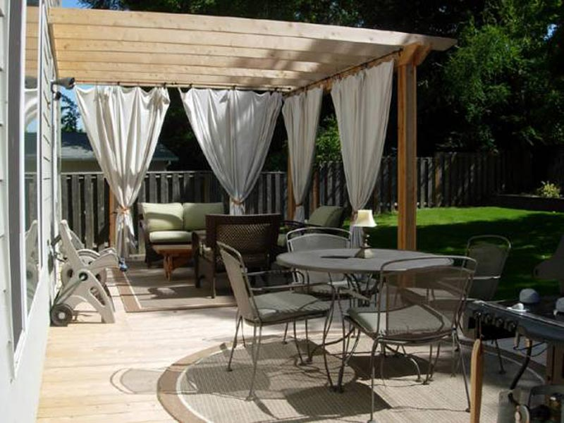 Enclosed Pergola Ideas