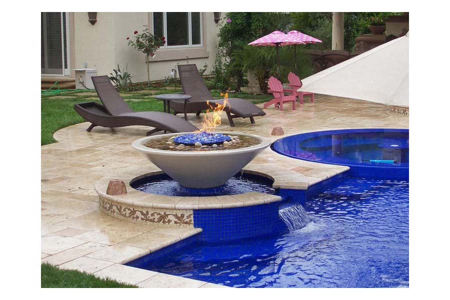 Fire Bowl For Pool