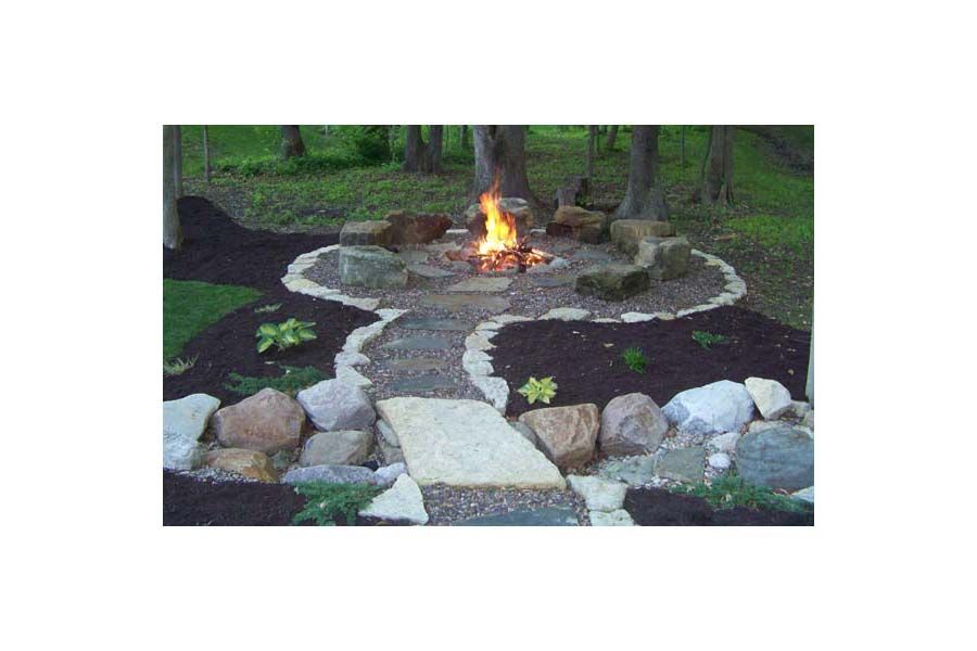 Fire Pit Area Designs