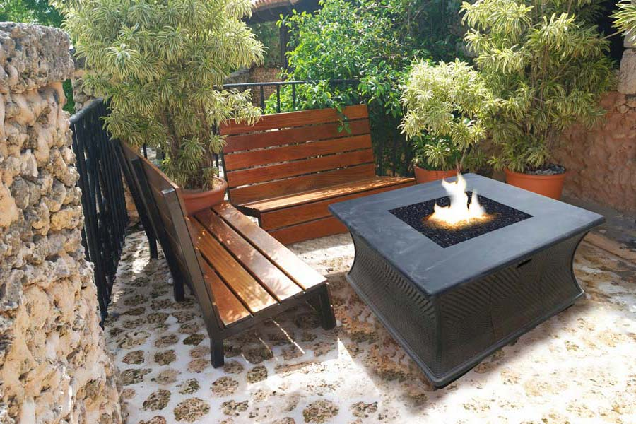 Fire Pit Bench Ideas
