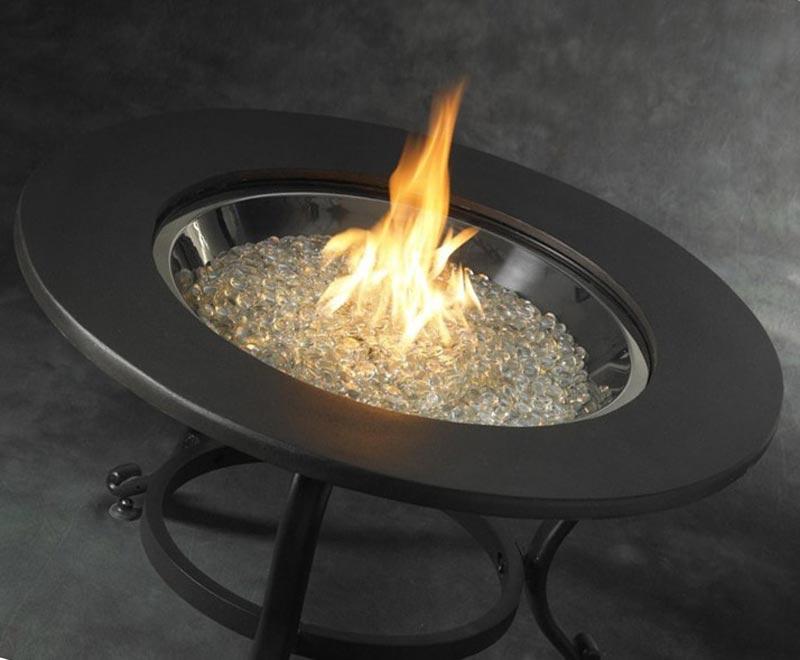 Fire Pit Glass Cheap