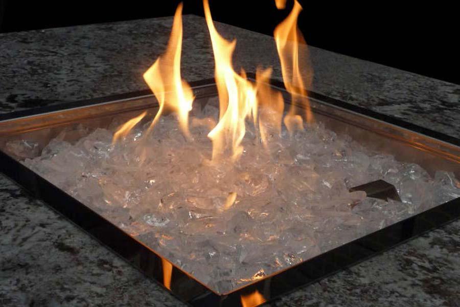Fire Pit Glass Uk