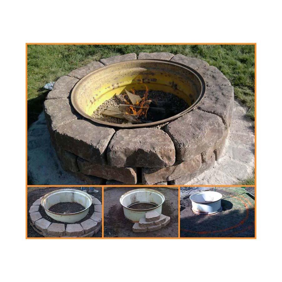 Fire Pit Rims For Sale