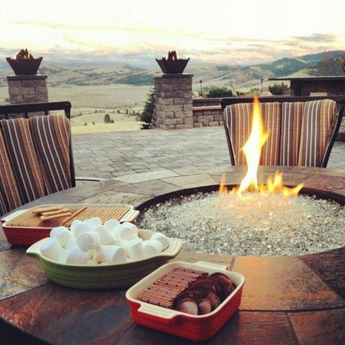 Fire Pit Table Top Insert