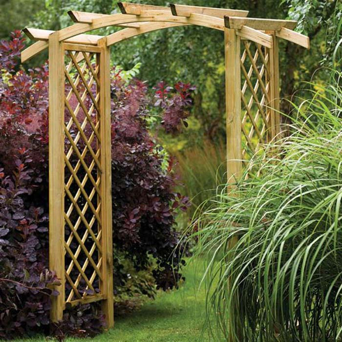 Guide to a perfect pergola arch