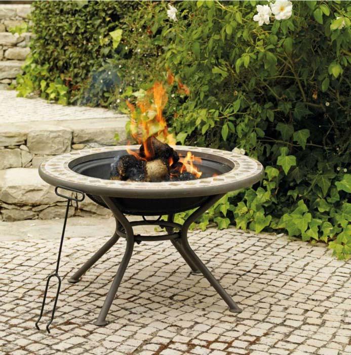 Garden Fire Pit B&Q