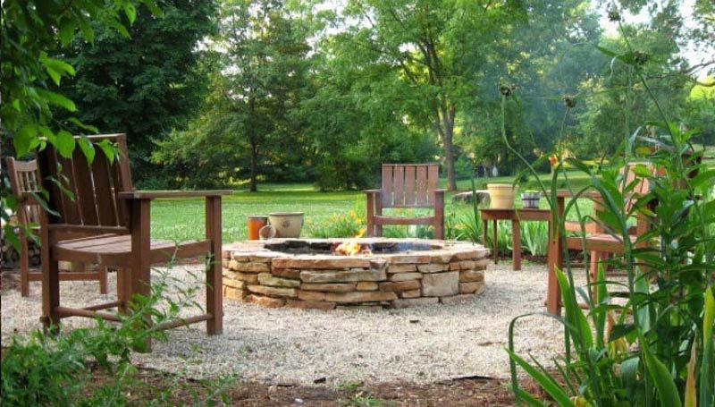 Garden Fire Pit Diy