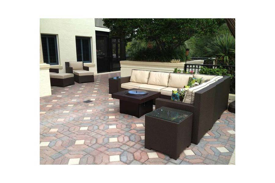 Gas Fire Pit Patio Table