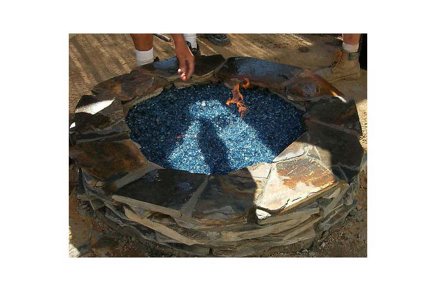 How To Build A Fire Glass Pit