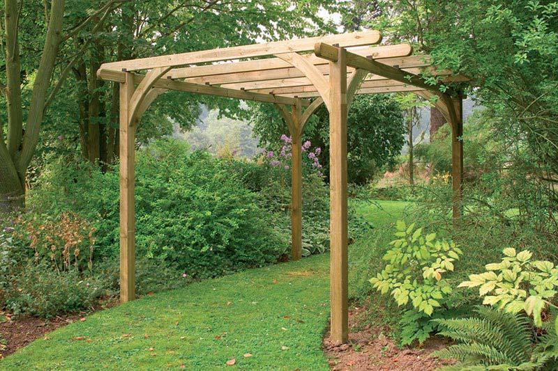Large Ultima Pergola Garden Arch