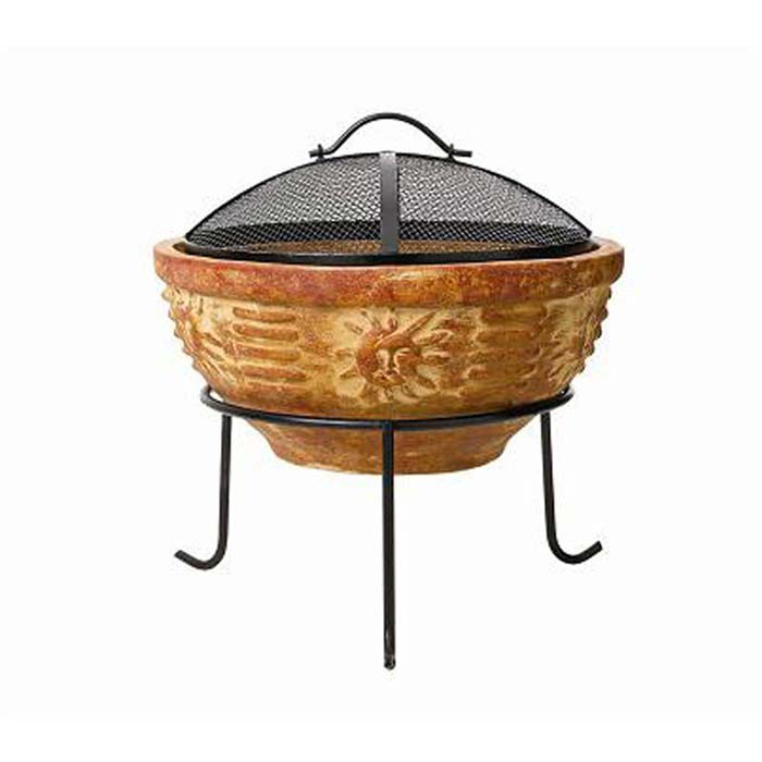 Get earthen with a Clay Fire pit