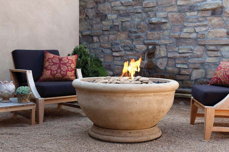 Natural Gas Fire Pit Bowl