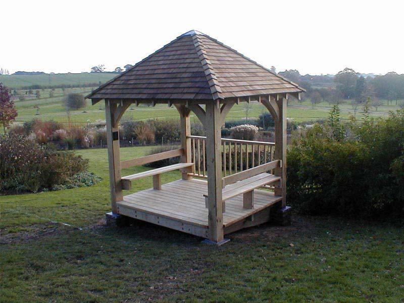 Oak Pergolas Sussex