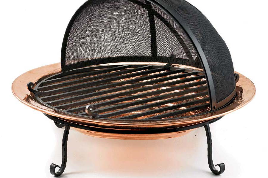 Outdoor Fire Pit Grill Grates