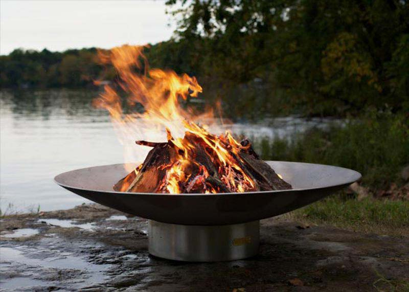 Outdoor Wood Burning Fire Pit Kits