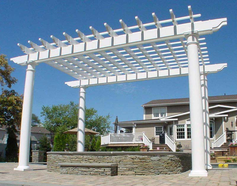 Pergola Beam End Designs