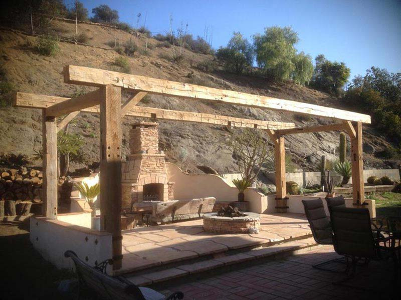 Pergola Wood Beams