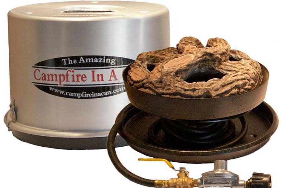 Propane Fire Pit Camping