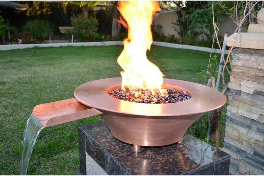 Round Fire Pit Bowl