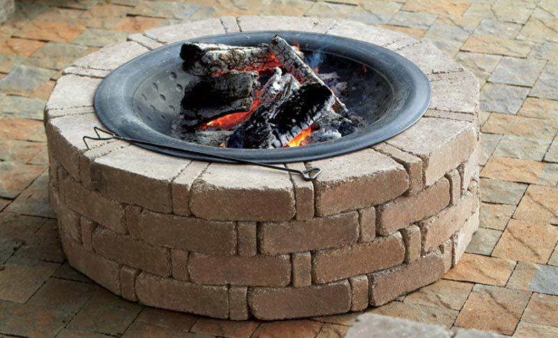 Round Fire Pit Insert