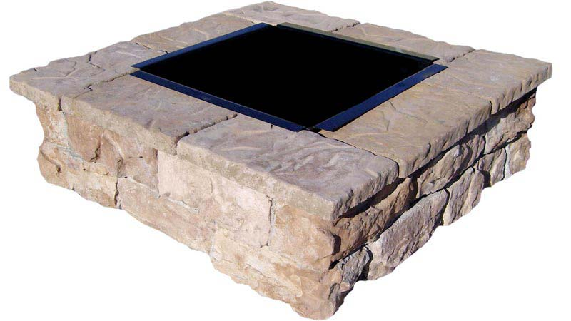 Square Fire Pit Insert Replacement