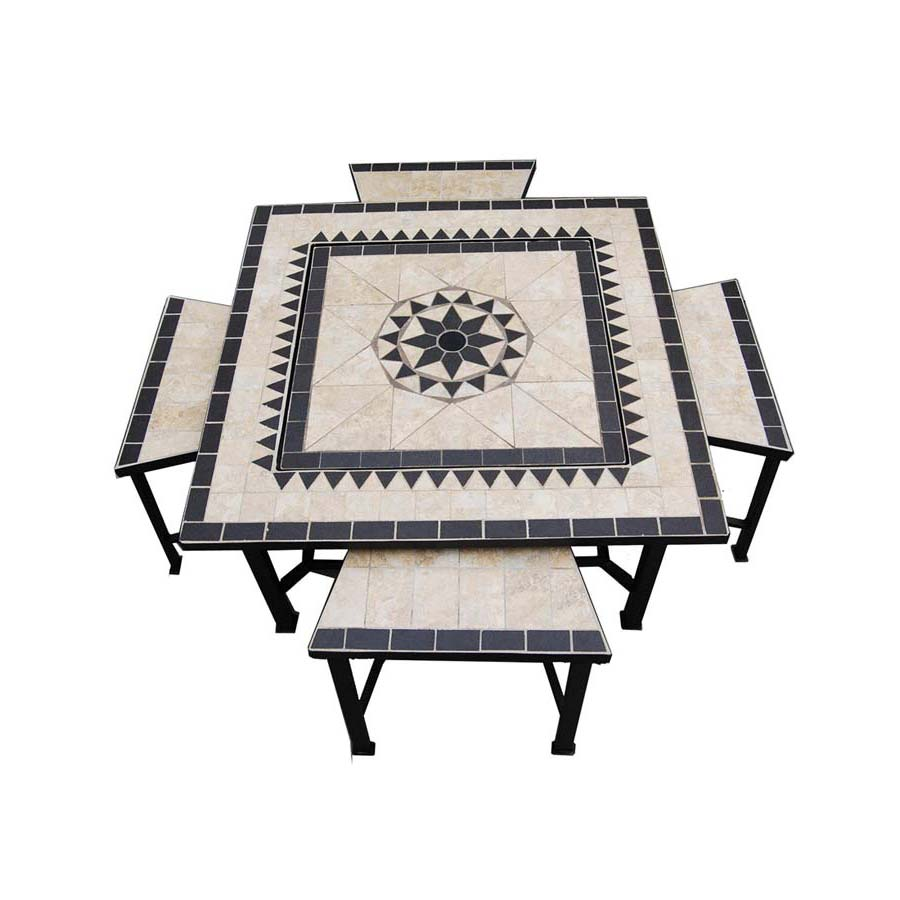 Square Fire Pit Table Cover