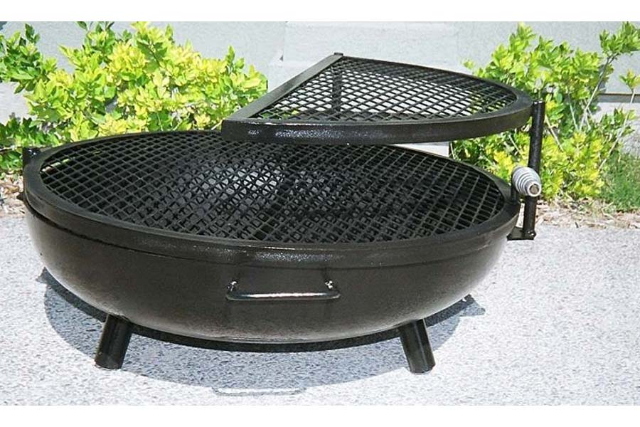 Stainless Steel Fire Pit Bbq