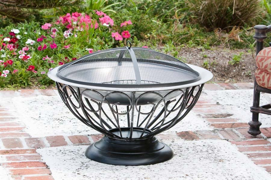 Stainless Steel Fire Pit Bowl